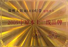 誉美灯饰-2009年中原本土一线品牌